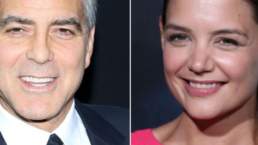 Katie Holmes: Auf Tuchfühlung mit George Clooney?