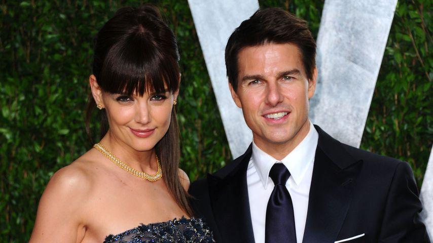 Katie Holmes und Tom Cruise bei der Vanity Fair Oscar Party 2012