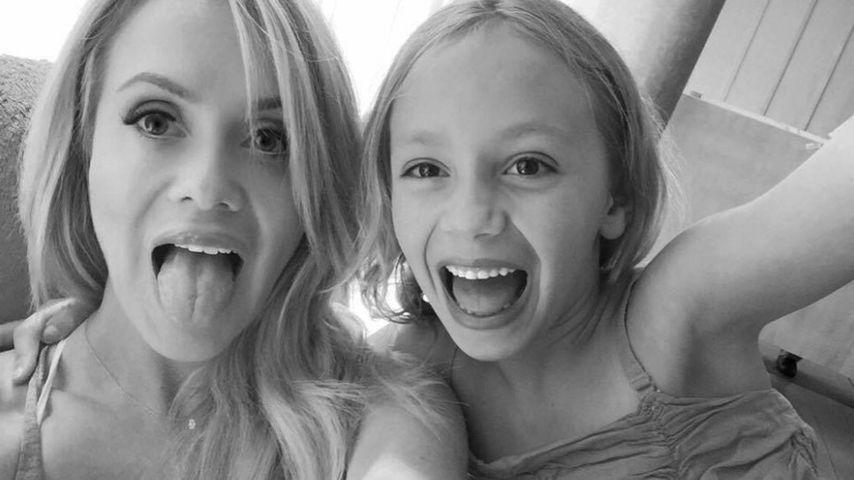 Model Katie May und Tochter Mia