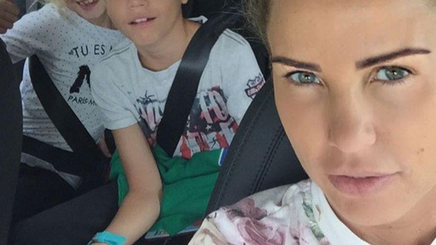 Shopping-Spaß: Katie Price & ihre Kids im Schulfieber