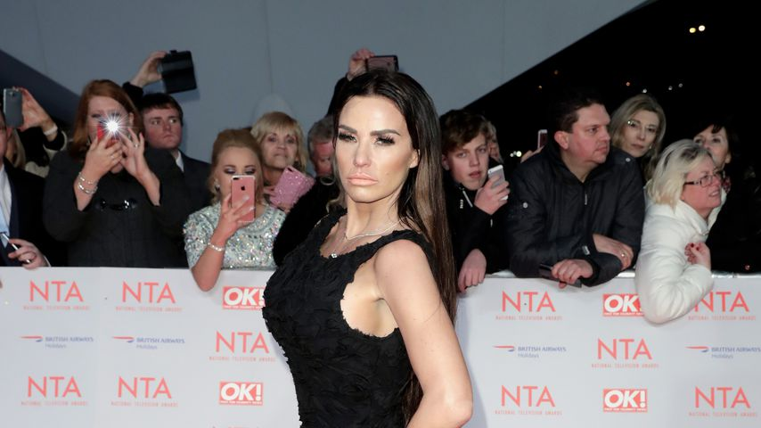 Katie Price bei den National Television Awards 2018