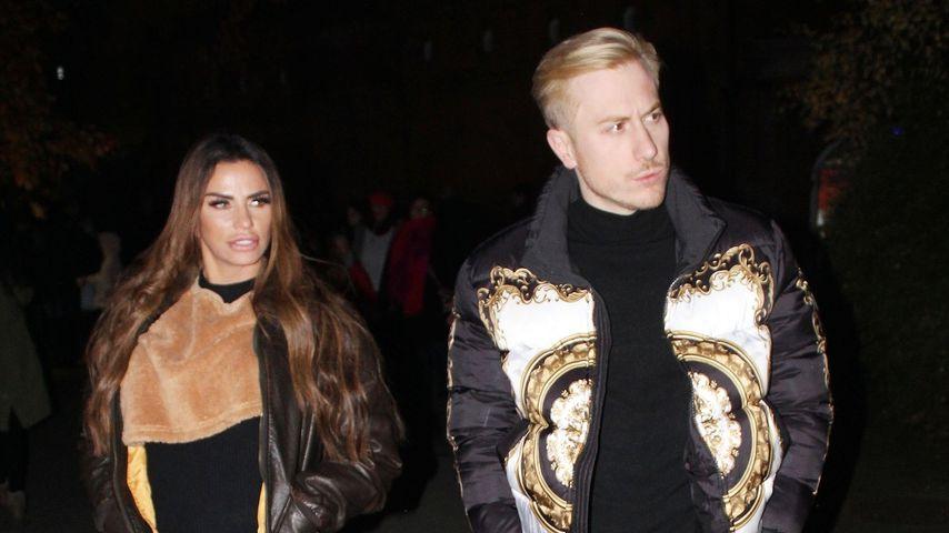 Katie Price und Kris Boyson in London
