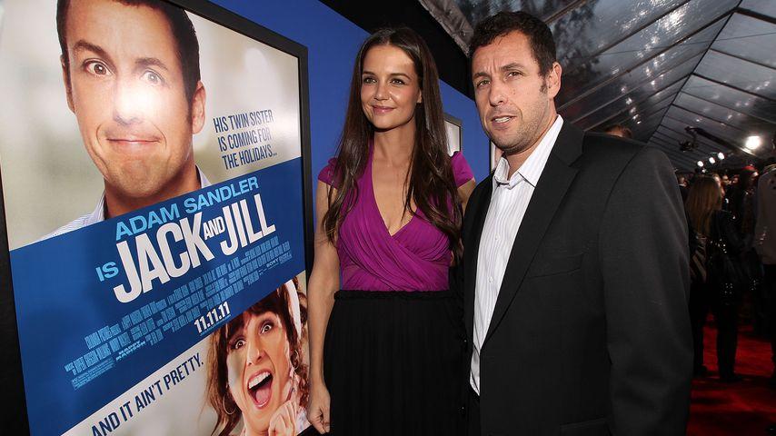 """Katie Holmes und Adam Sandler bei der """"Jack und Jill""""-Premiere"""