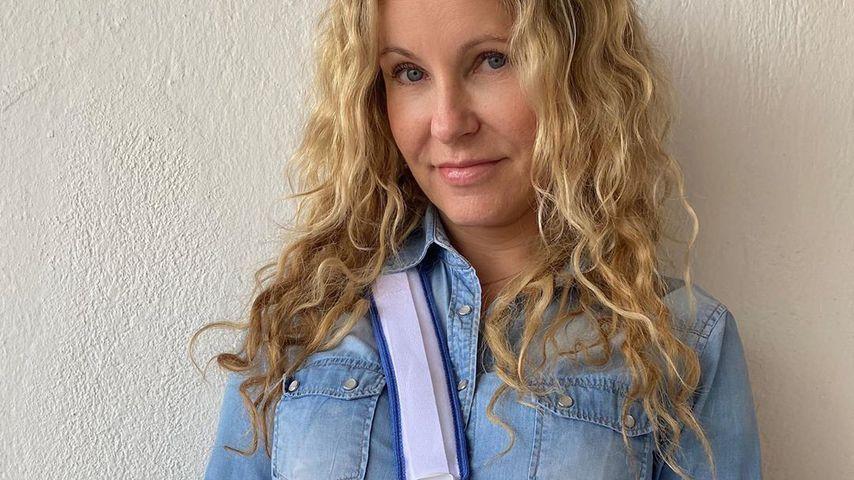 RTL-Moderatorin Katja Burkard im Februar 2020