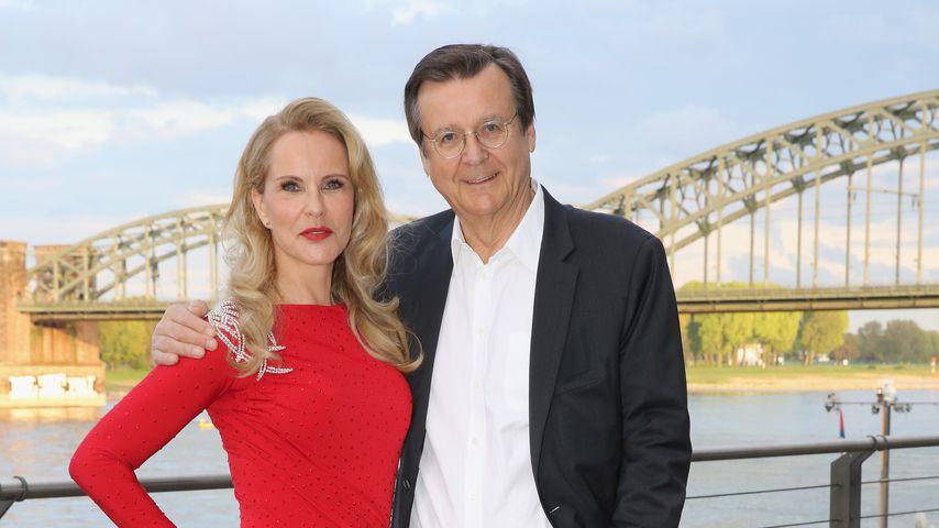 Katja Burkard und Hans Mahr an Katjas 50. Geburtstag in Köln