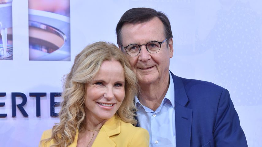 Katja Burkard und Hans Mahr auf der Bertelsmann Party 2019