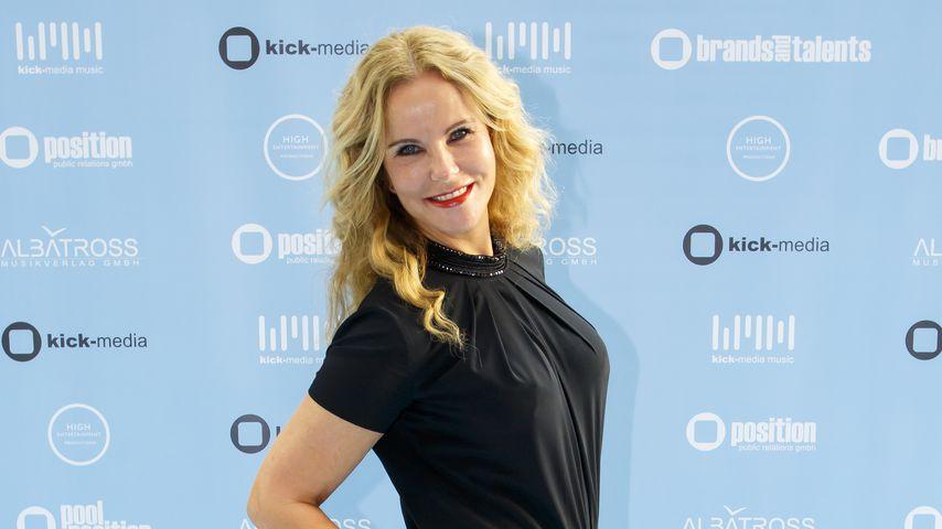 Katja Burkard beim Kick Media Sommerfest 2016