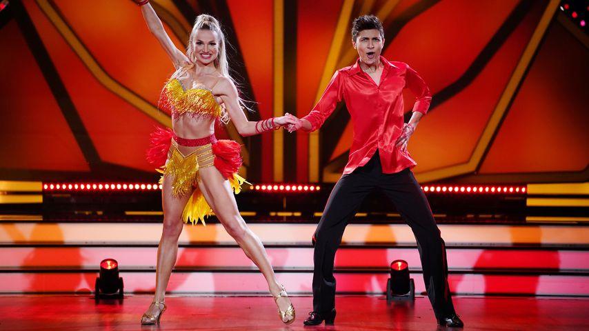 Katja Kalugina und Lukas Rieger bei Let's Dance