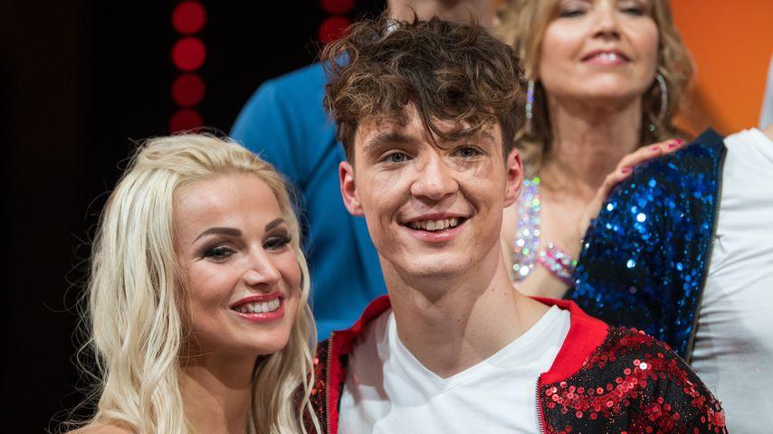 "Katja Kalugina und Roman Lochmann bei ""Let's Dance"""