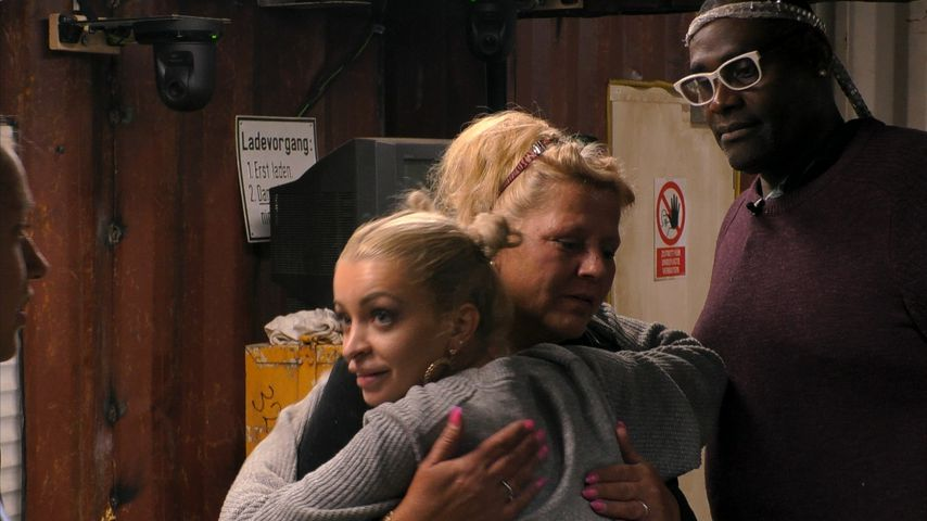 "Katja Krasavice, Silvia Wollny und Alphonso Williams auf der ""Promi Big Brother""-Baustelle"