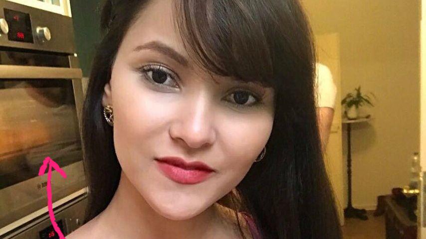 Selfie-Panne: Versteckt Bachelor-Kattia hier ihren Neuen?