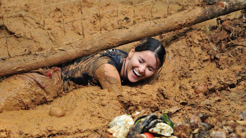 Kattia Vides bei der Dschungel-Schatzsuche
