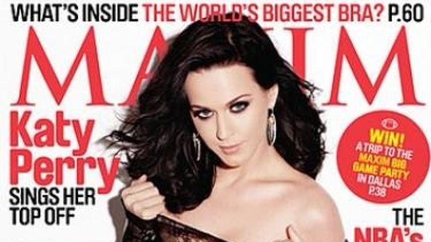 Sexy! Katy Perry im Spitzen-Lack-Body