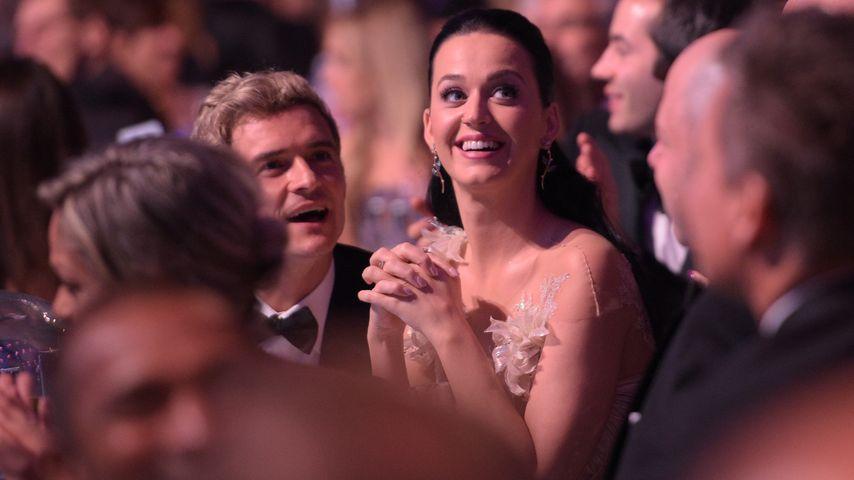 Echt ein Paar? Katy Perry & Orlando Bloom on Tour mit Flynn