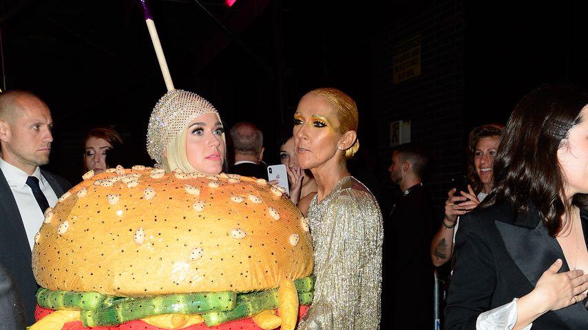Zu viel des Guten? Katy Perry als Burger bei Met-After-Party