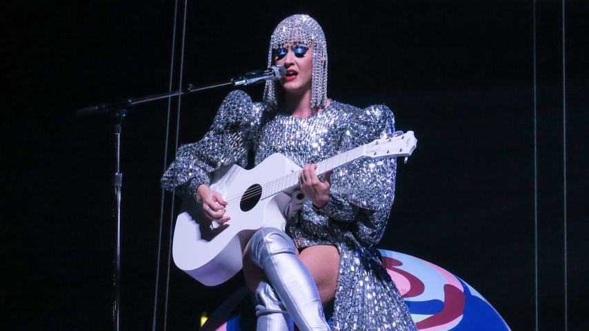 US-Sängerin Katy Perry im Staples Center in Los Angeles