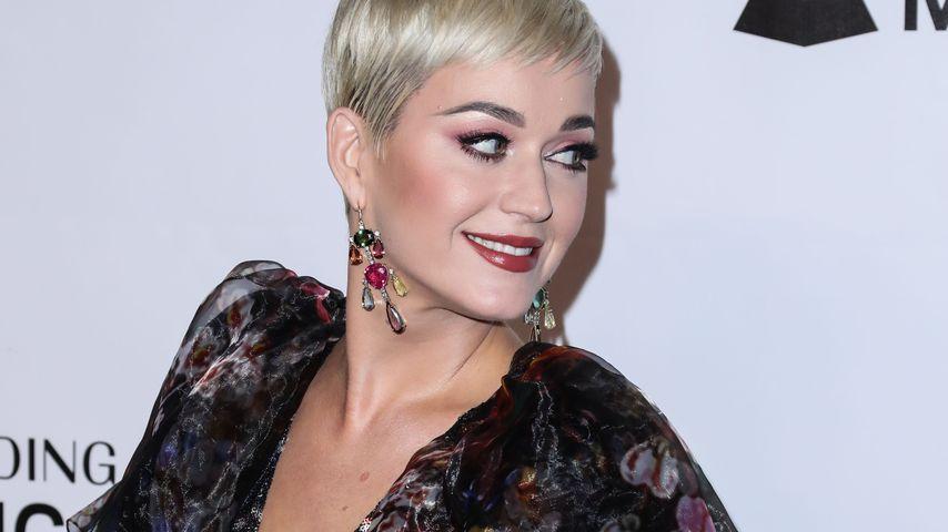 Katy Perry auf einem Event in Los Angeles im Februar 2019