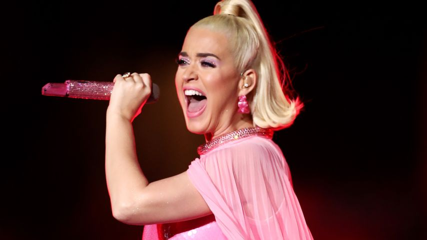 Katy Perry beim Frauen Cricket World Cup Finale in Melbourne im März 2020