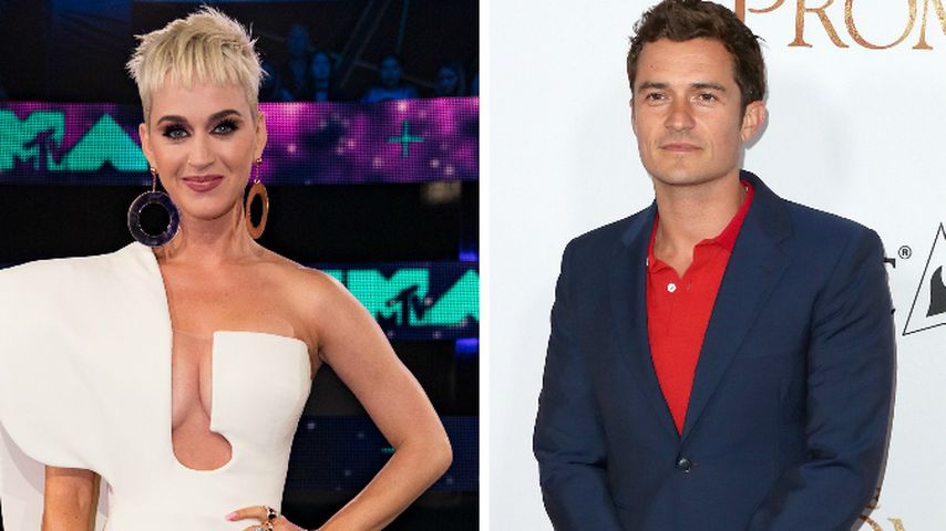 Finales Pärchen-Indiz? Katy Perry feuert ihren Orlando an!