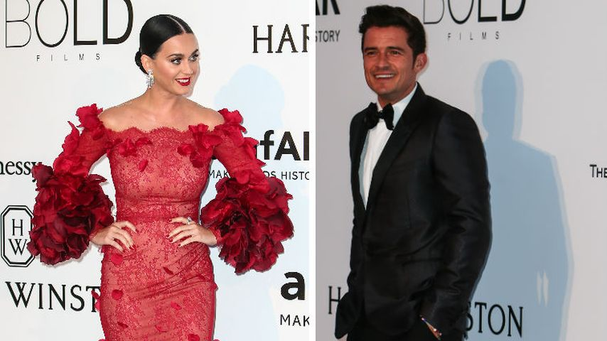 Bei amfAR-Gala: Katy Perry verdreht Orlando Bloom den Kopf