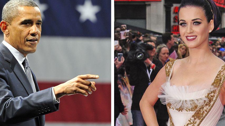 Katy Perry wird für Präsident Obama singen