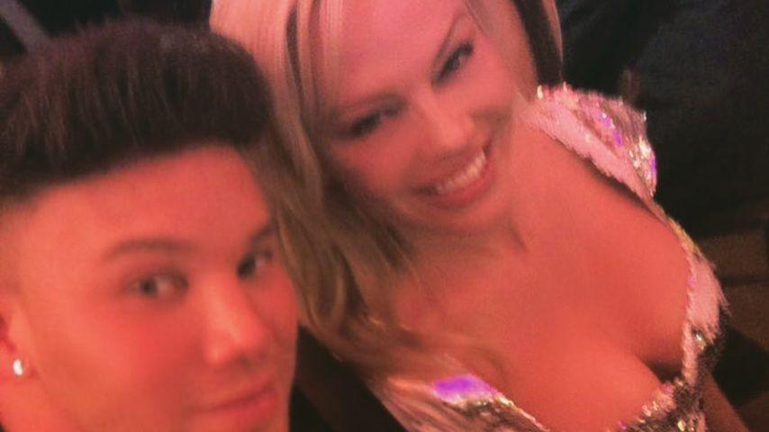 Kay One und Pamela Anderson