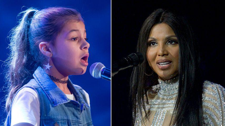 """Star-Gene? """"The Voice Kids""""-Kayla mit Toni Braxton verwandt"""