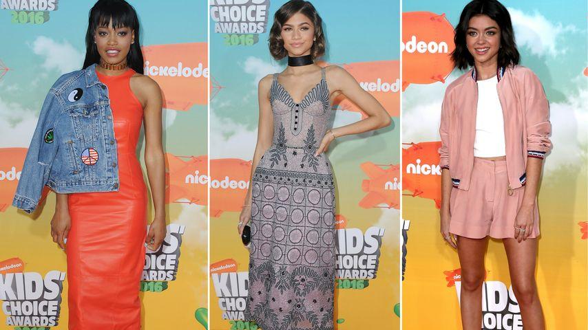 Süß & sexy: Das sind die Top-Outfits der Kids' Choice Awards