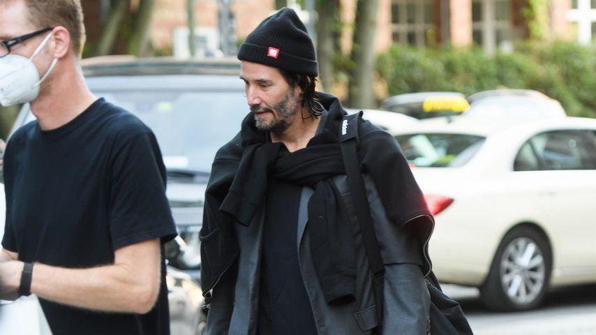 Keanu Reeves in Berlin, September 2021