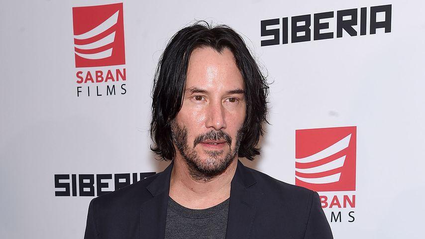 "Keanu Reeves bei der ""Siberia""-Premiere im Juli 2018"