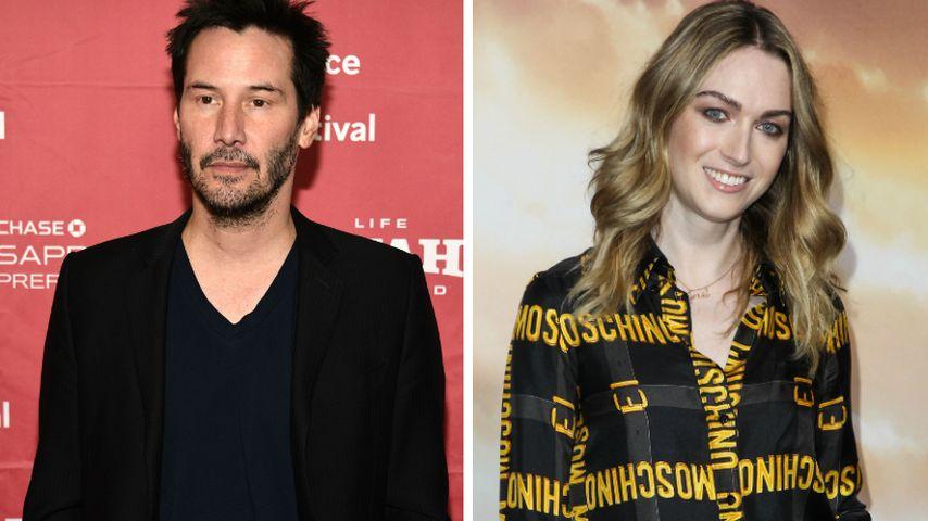 Verliebt? Keanu Reeves datet Transgender Jamie Clayton