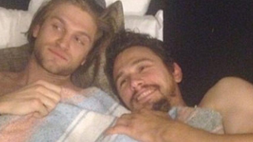 James Franco lüftet das Geheimnis seiner Selfies