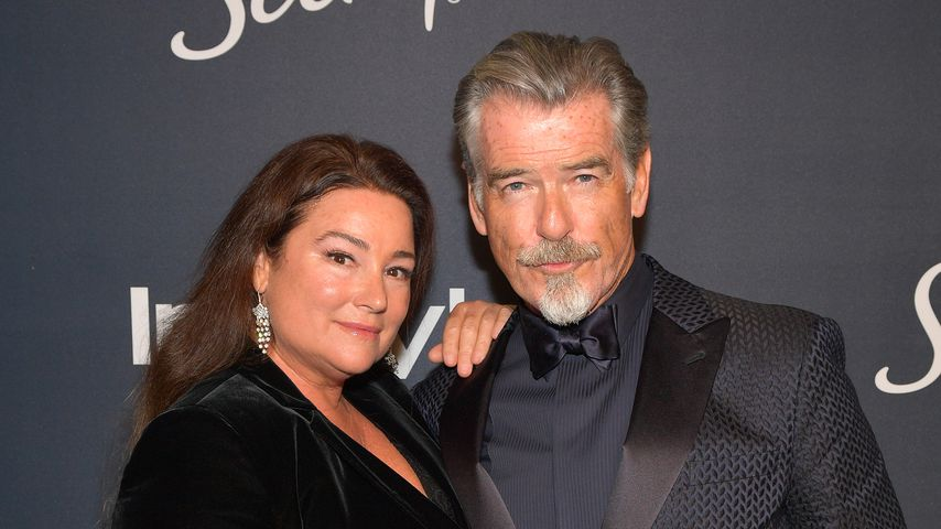 Keely Shaye Smith und Pierce Brosnan im Januar 2020 in Beverly Hills