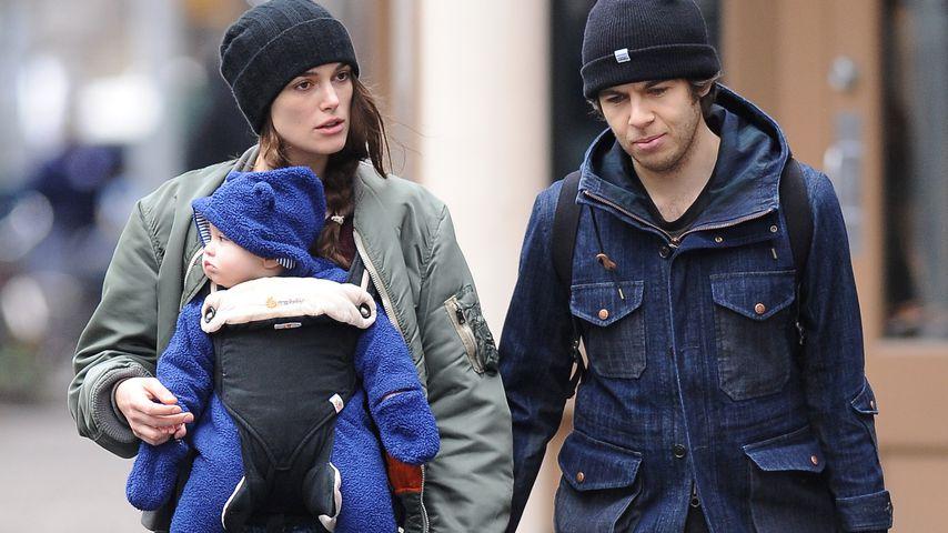 Keira Knightley mit Tochter Edie und Ehemann James Righton in New York