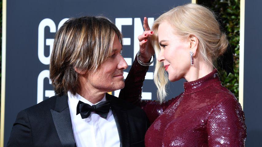 Keith Urban und Nicole Kidman bei den Golden Globes 2019
