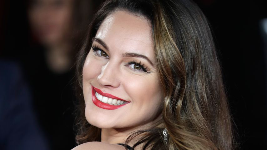 "Kelly Brook auf der Weltpremiere von ""Murder On The Orient Express"""