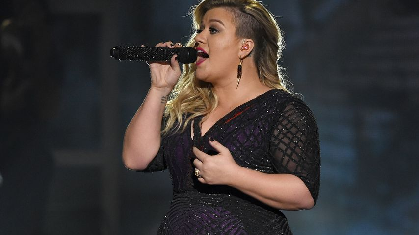 Kelly Clarkson während der Billboard Music Awards 2015