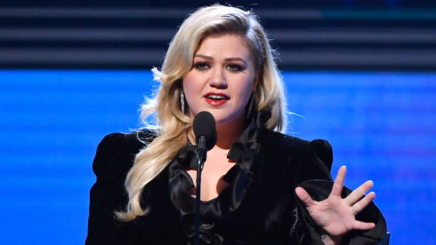 Kelly Clarkson bei den Critics' Choice Awards in Santa Monica, Kalifornien, im Jahr 2020