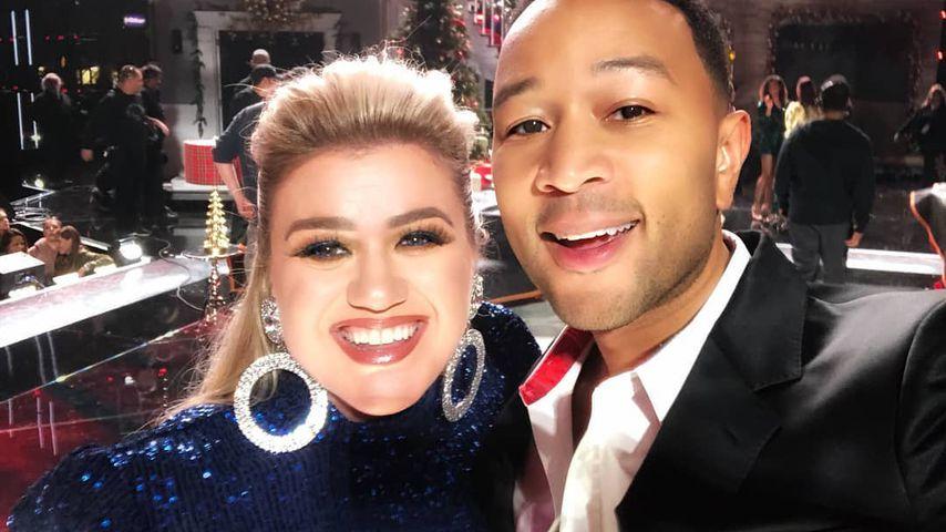 Kelly Clarkson und John Legend