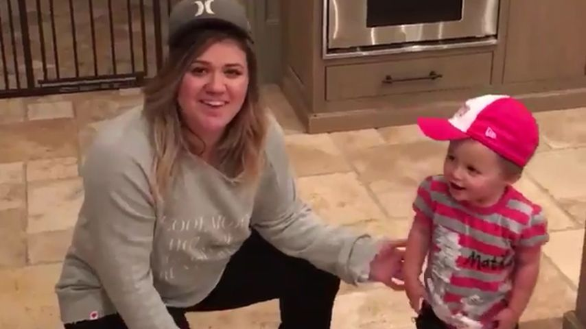 Hip-Hop-Girls: Kelly Clarkson tanzt mit Tochter River Rose