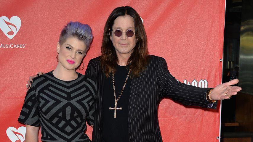Kelly Osbourne mit ihrem Vater Ozzy