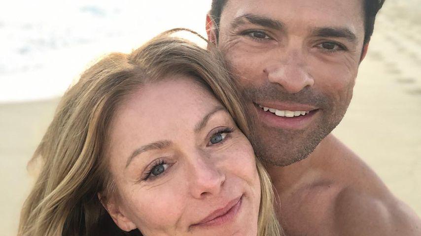 Kelly Ripa und ihr Ehemann Mark Consuelos