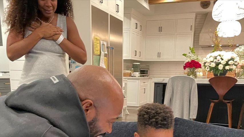 Kelly Rowland mit ihrer Familie