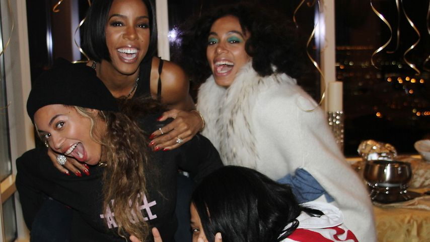 Kelly Rowlands B-Day: Huckepack-Party mit Beyoncé