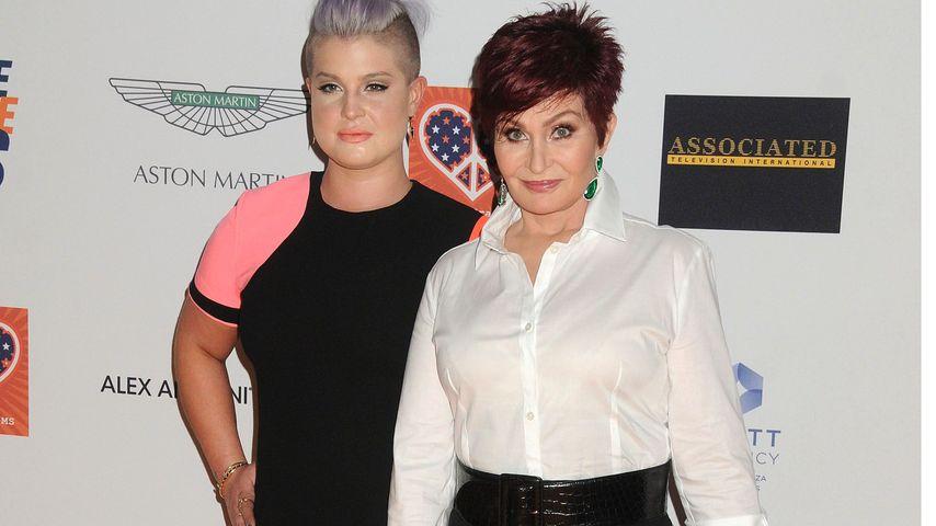 Kelly und Sharon Osbourne in LA