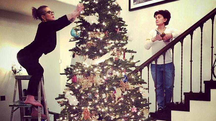 3-Meter-Tanne: Die Osbournes schmücken Mega-Weihnachtsbaum