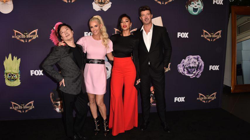 Ken Jeong, Jenny McCarthy, Nicole Scherzinger und Robin Thicke, 2019