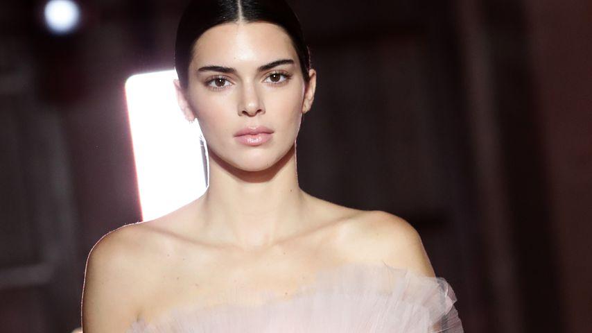 Kendall Jenner auf einer Fashion Show in Rom im Oktober 2019