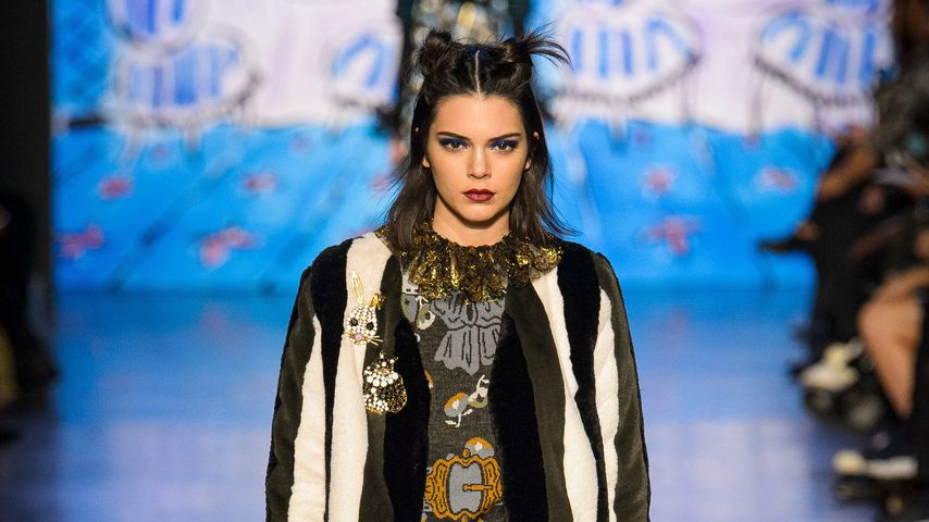 Kendall Jenner bei der Anna Sui Fashion Show