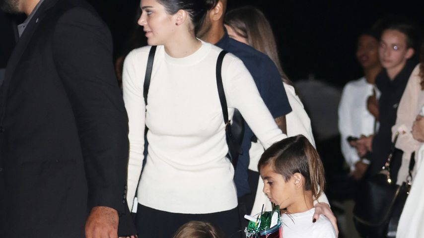 Kendall Jenner, Penelope Disick und Mason Disick